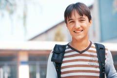 Estudiante sonriente Fotos de archivo libres de regalías