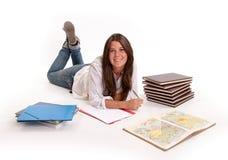Estudiante sonriente Fotografía de archivo