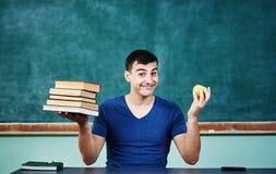Estudiante sonriente Imagen de archivo