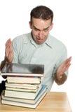 Estudiante tensionado Imagen de archivo