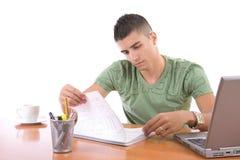 Estudiante universitario Imagen de archivo libre de regalías