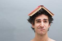 Estudiante universitario aburrido Imagen de archivo