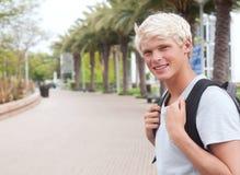 Estudiante universitario adolescente joven Imagenes de archivo