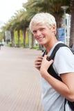 Estudiante universitario adolescente joven Fotos de archivo