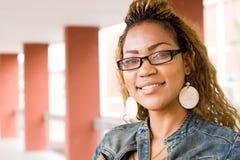 Estudiante universitario africano fotos de archivo libres de regalías