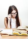 Estudiante universitario amistoso Imagen de archivo