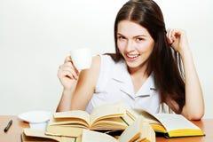 Estudiante universitario amistoso Imágenes de archivo libres de regalías