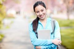 Estudiante universitario asiático imágenes de archivo libres de regalías