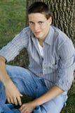 Estudiante universitario de sexo masculino joven Imagen de archivo