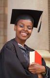 Estudiante universitario del afroamericano Imagenes de archivo