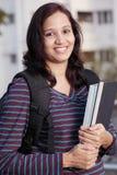 Estudiante universitario feliz Fotografía de archivo libre de regalías