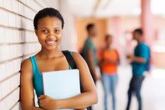 Estudiante universitario hermoso Fotografía de archivo