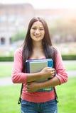 Estudiante universitario hispánico foto de archivo