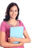 Estudiante universitario indio feliz Foto de archivo