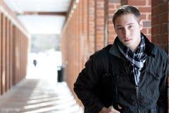 Estudiante universitario joven Fotos de archivo