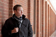 Estudiante universitario joven Fotografía de archivo libre de regalías