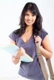 Estudiante universitario latino Imagen de archivo libre de regalías