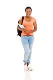 Estudiante universitario Portrait Foto de archivo libre de regalías