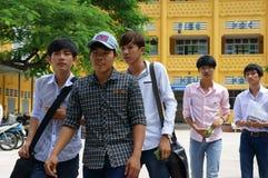 Estudiante vietnamita de la High School secundaria Foto de archivo libre de regalías