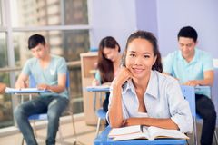 Estudiante vietnamita de la High School secundaria Fotografía de archivo
