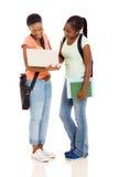 Estudiantes afroamericanos Foto de archivo libre de regalías
