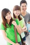 Estudiantes atractivos Foto de archivo libre de regalías