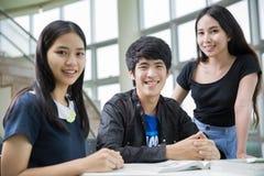 Estudiantes de Asia Foto de archivo