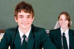 Estudiantes de la escuela secundaria Fotografía de archivo