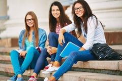Estudiantes de la universidad Foto de archivo