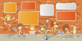 Estudiantes del adolescente Imagen de archivo libre de regalías