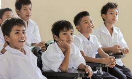 Estudiantes elementales Foto de archivo libre de regalías