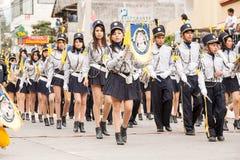 Estudiantes en el evento del público de la festividad del verano Fotos de archivo