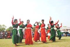 Estudiantes en festival Imagen de archivo