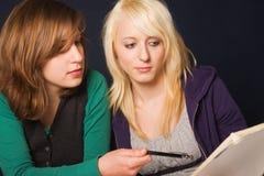 Estudiantes en la preparación Imagen de archivo