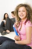 Estudiantes felices Imagenes de archivo