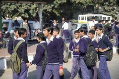 Estudiantes indios Imagenes de archivo