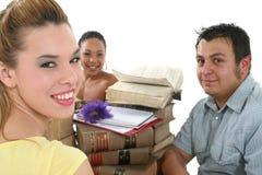 Estudiantes universitarios Imágenes de archivo libres de regalías