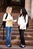 Estudiantes universitarios Imagenes de archivo