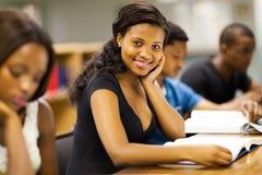Estudiantes universitarios africanos Fotografía de archivo