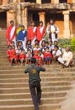 Estudiantes y profesores Fotografía de archivo libre de regalías