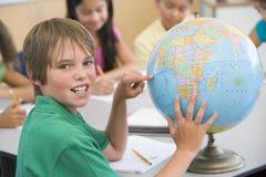 Estudiar la geografía Imagen de archivo libre de regalías