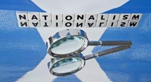 Estudiar nacionalismo escocés Imagen de archivo libre de regalías