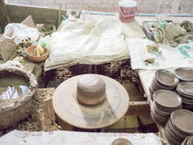 Estudio asiático de la cerámica Foto de archivo