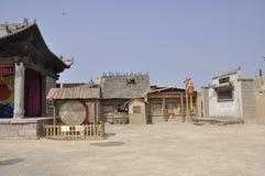 Estudio cinematográfico del oeste del zhenbeipu de Ningxia Imagenes de archivo