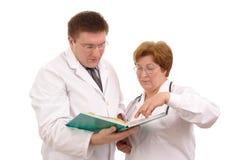 Estudio de caso médico Imagen de archivo libre de regalías