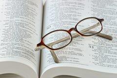 Estudio de la biblia Imagen de archivo libre de regalías