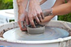 Estudio de la cerámica Foto de archivo libre de regalías