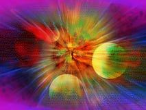 Estudio de la explosión Imagen de archivo libre de regalías