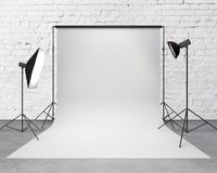 Estudio de la fotografía Fotografía de archivo libre de regalías