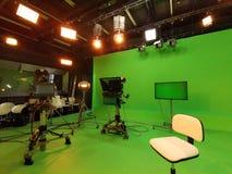 Estudio de la TV - equipo para filmar fotografía de archivo libre de regalías